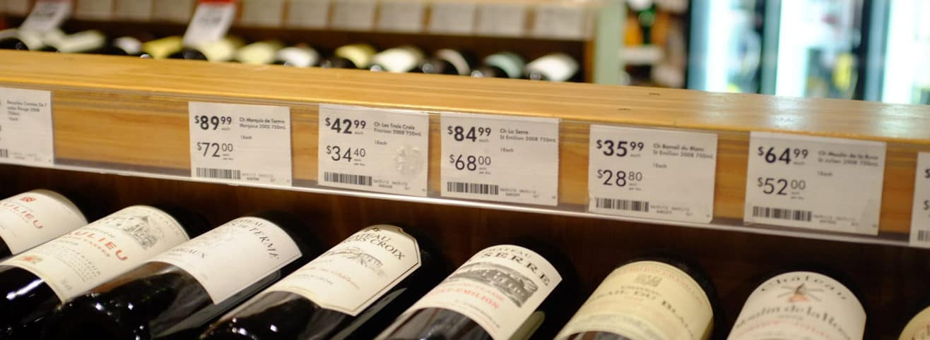 wine on sale